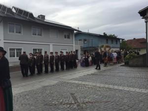 Musikkapelle Kematen Piberbach Erntedank 2016
