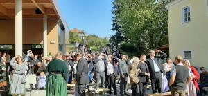 Betrachtung des neuen Kirchturms