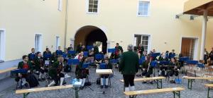 Aufbau Musikkapelle